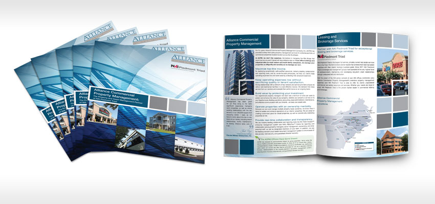 Greensboro Brochure, Pamphlet, Catalog & Tri-Fold Design
