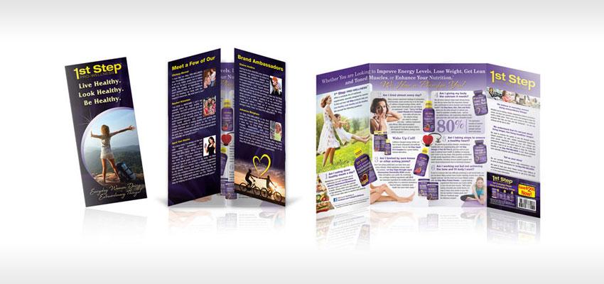 product pamphlet design