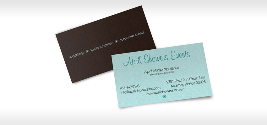 two sided business card designs