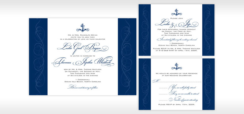 Greensboro Event  High End Wedding Invitation Designers